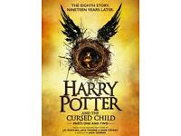 Harry Potter and The Cruised Child 26th December 2016 4 tickets both Parts
