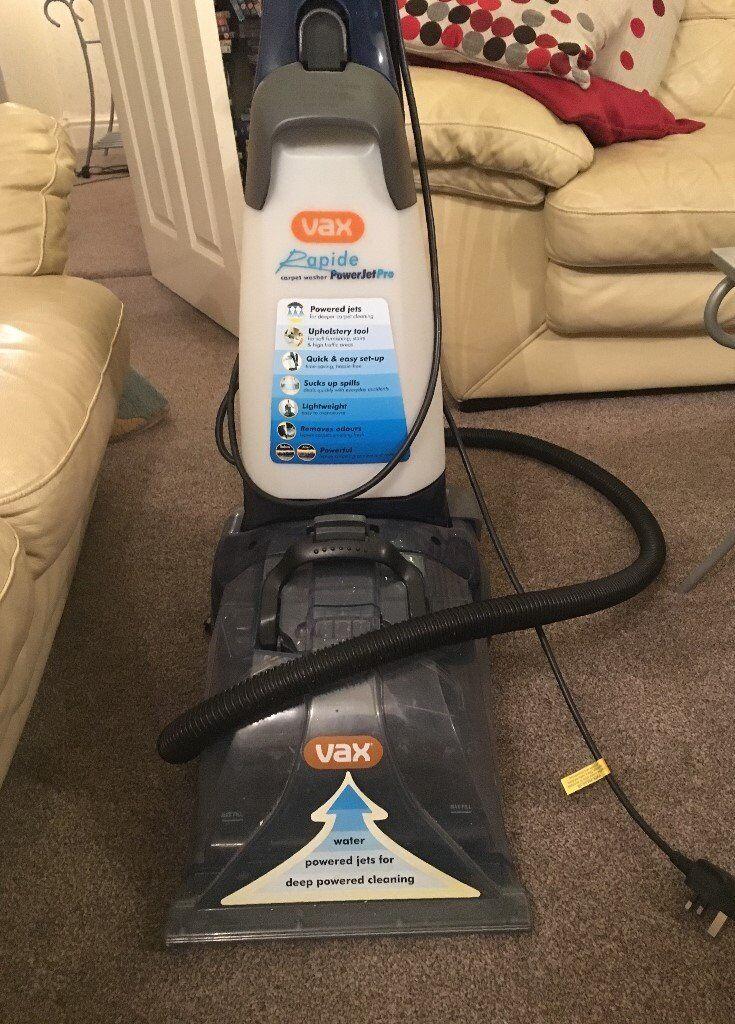 VAX Rapide PowerjetPRO Upright Carpet Washer