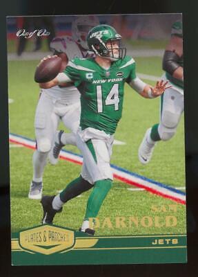 2020 Panini Plates & Patches Gold #62 Sam Darnold 1/1
