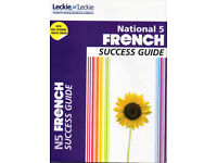 National 5 French educational text book - Success Guide - Leckie & Leckie