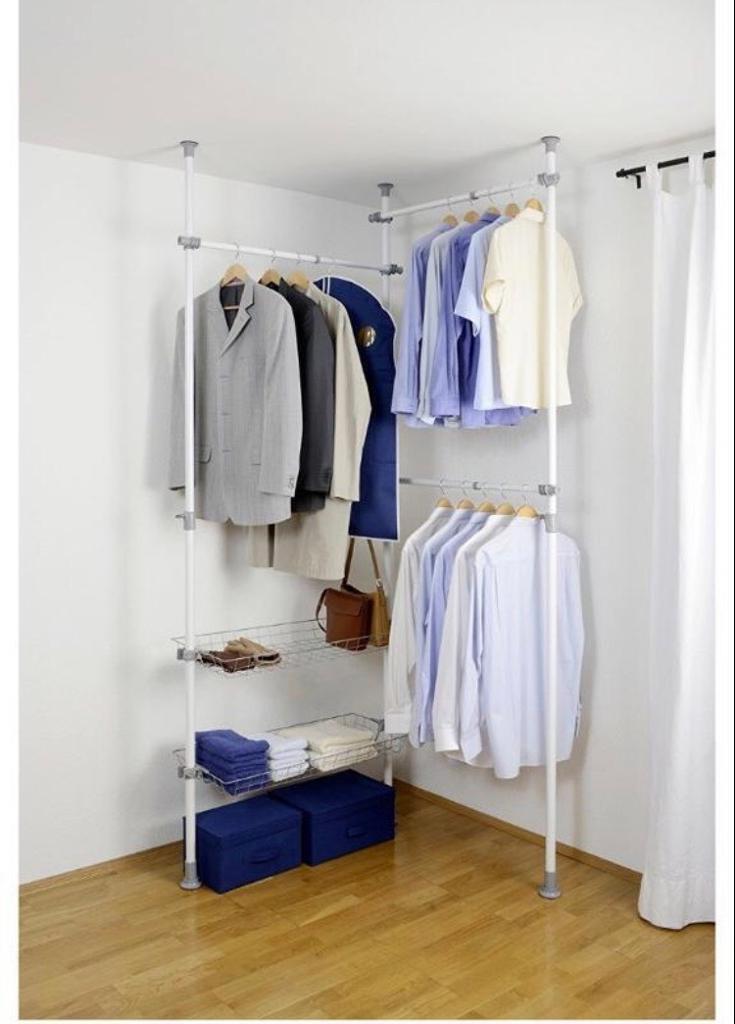 Wenko Hanging Wardrobe / Storage / Clothes Rail