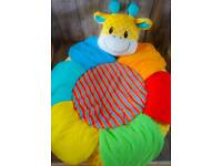 Mothercare Giraffe Sit Me Up Cosy Playnest/Playmat