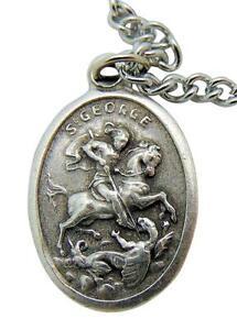 St George Patron Saint Medal 3/4