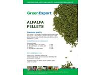 Lucern alfalfa pellets