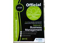 Business management national 5 sqa specimen paper