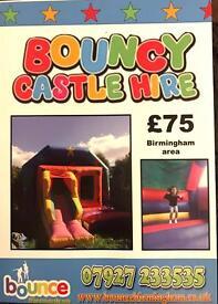 Disco Music Bouncy Castle Hire