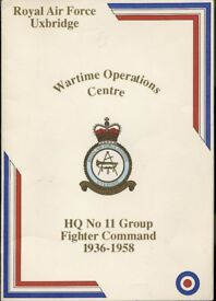 Royal Air Force Uxbridge HQ No11 Fighter Command 1936 1958 Booklet For Sale