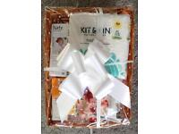Eco friendly baby gift hamper £20