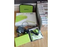 NINTENDO DS LITE + 13 GAMES AND ACCESSORIES