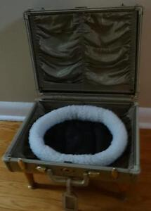 Small Suitcase Cat Bed