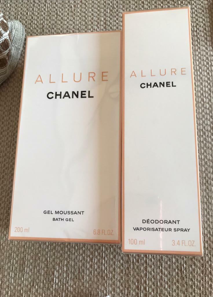 02f268b3c7a Chanel Allure Bath Gel and Deodorant Retails £68