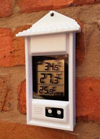 Digital Indoor or Garden Thermometer