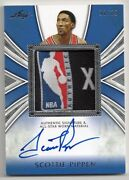 Scottie Pippen Auto