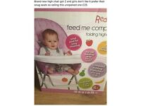 Brand ne in box high chair BARGAIN