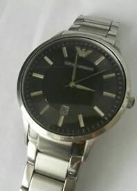 Armani Watch with Receipt