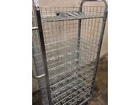 Wine rack / order picking trolleys shops warehouse to promote items