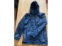 Regatta Navy Blue Fleece Lined Waterproof Coat