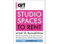 Artist studio for Rent at UNIT 13.