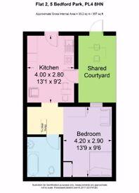 Newly refurbished student flat - 1 Bedroom, all inclusive, heating, internet, 3 min walk
