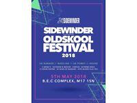Sidewinder oldskool festival tickets