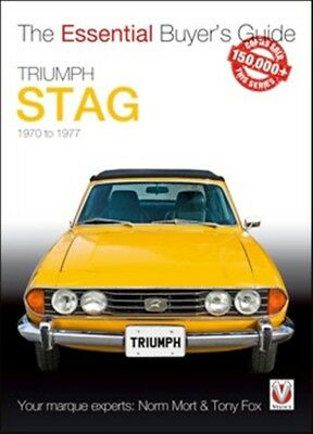 Triumph Stag The Essential Buyer's Guide car book paper