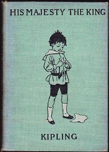His-Majesty-The-King-and-Wee-Willie-Winkie-By-Rudyard-Kipling-Hardback-1899