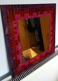 Gorgeous Mosaic Mirror Purple/Pinks