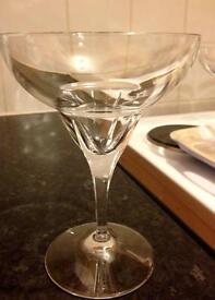 Margarita Crystal Glasses