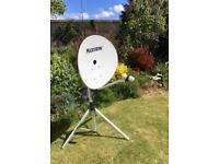 Portable Satellite dish.