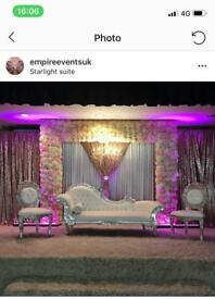 Full Asian Wedding packages- Decor with all you're events needs