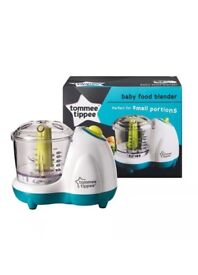 tommee tippee baby food blender brand new in box