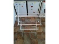 Folding laundry clothes airer - Great condition - £5 - Sutton clearance - Collection only