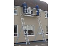 4mtr working platform with or without the ladders.