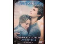The Fault In Our Stars limited edition poster