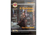 GCSE 'A Christmas Carol' English - Text Guide and Revision Textbook - CGP