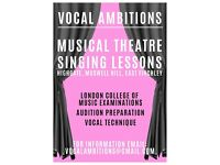 **Musical Theatre Singing Lessons**