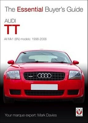 Audi TT All Mk1 8N models 1998-2006 book paper car