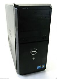JOB LOT X3 DELL VOSTRO 230, WINDOWS 7&10 INSTALLED