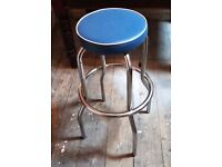 1950's / 60's Style American Diner Stool. Great for Bar, Man Cave or Vintage Themed Kitchen / Diner.