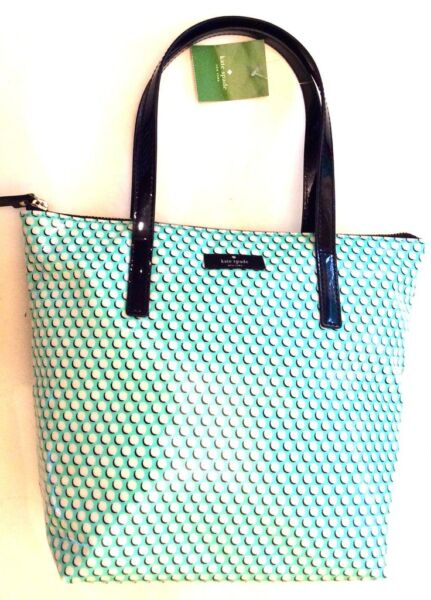 KATE SPADE NEW YORK JERALYN DAYCATION COATED CANVAS TOTE