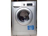 Half Price Silver Indesit IWE81281S- 8kg capacity