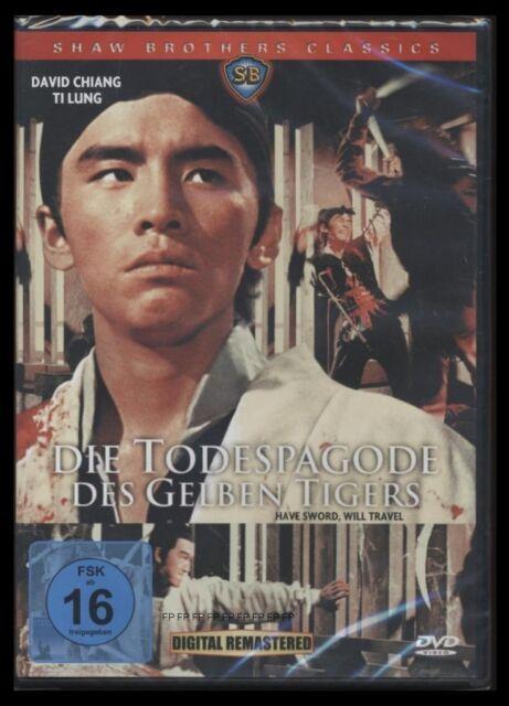DVD DIE TODESPAGODE DES GELBEN TIGERS - SHAW BROTHERS *** NEU ***