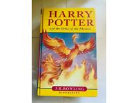 J K Rowling - Harry Potter and Order of the Phoenix - First Edition - HB