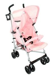 My babiie buggy (pink)