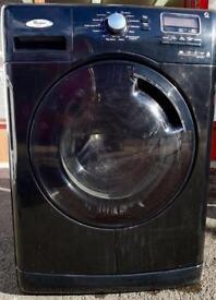 //(%)\ 8KG WHIRLPOOL BLACK WASHING MACHINE INCLUDES 6 MONTHS GUARANTEE