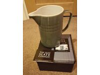 BNIB Large JUST SLATE Grey Jug Pitcher