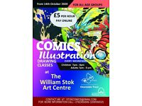 Comics and Illustration Classes Olnine
