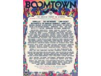 BOOMTOWN 2018 FULL WEEKEND CAMPING TICKET