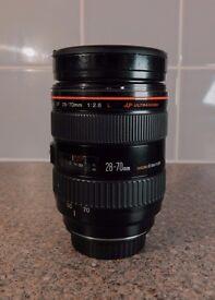 Canon 28-70 f2.8 L lens