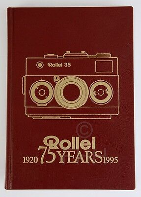 как выглядит ROLLEI 35 BOOK ROLLEI 75 YEARS  1920 - 1995 RARE LIMITED EDITION фото